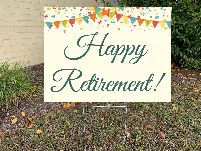 Customizable Happy Retirement
