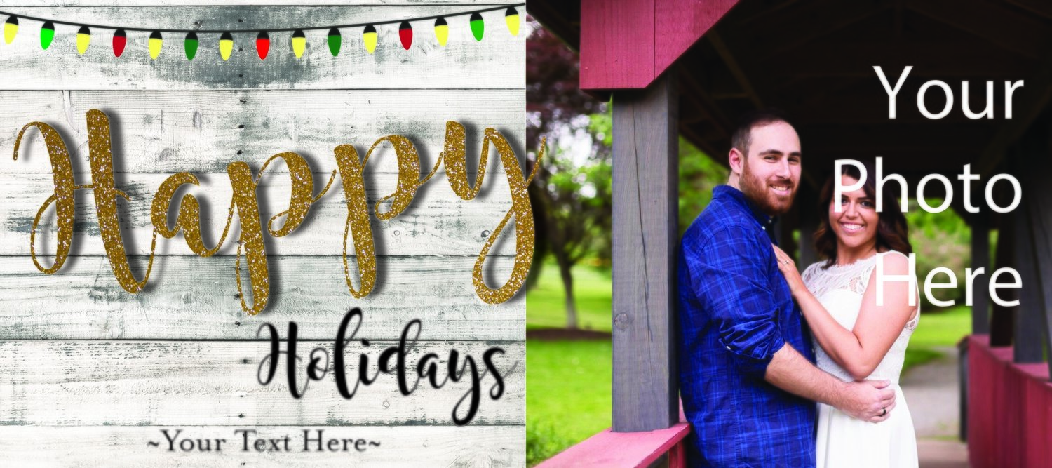 Happy Holidays picture card