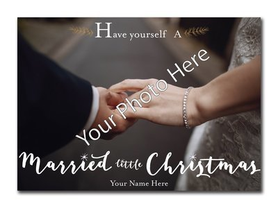 Married Little Christimas 5x7