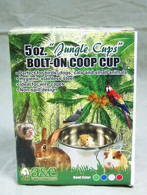 Stainless Steel - 5oz Coop Cup with Bolt on Ring