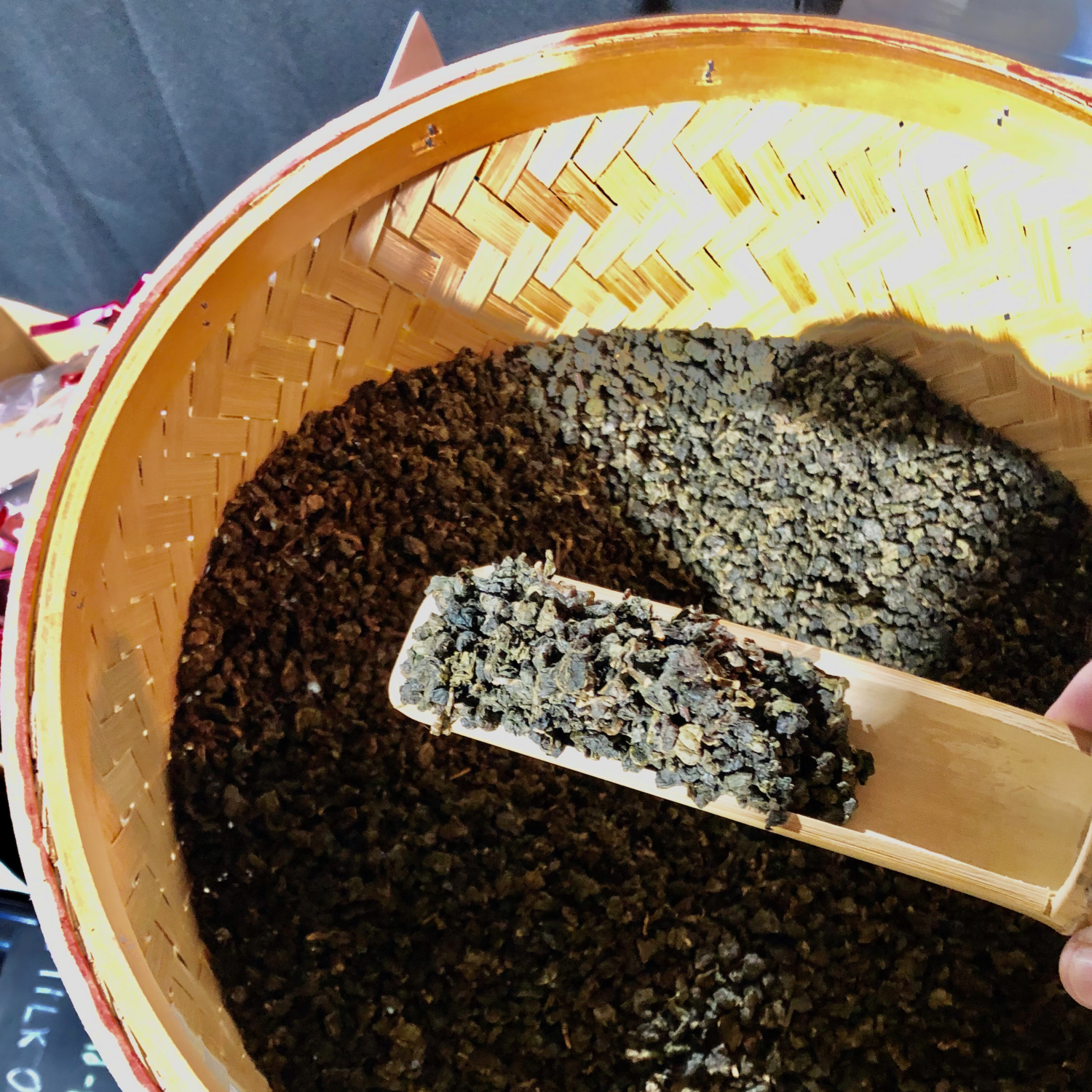 *BEST SELLING* Midnight Baked Oolong: smoky yet floral Chin Shin oolong tea, handpicked and hand-roasted in London