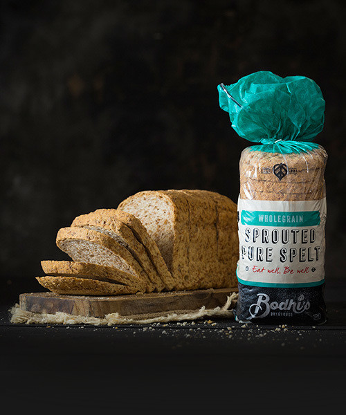 BODHI'S SPROUTED PURE SPELT BREAD 540G
