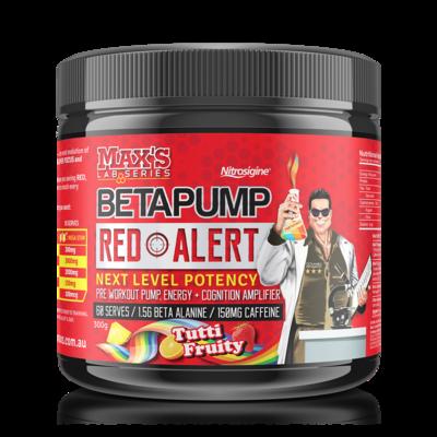 Max's Beta Pump Red Alert Pre Workout