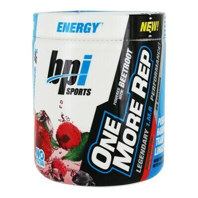 BPI Sports One More Rep Pre Workout