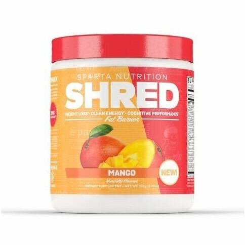Sparta Nutrition Shred Thermogenic