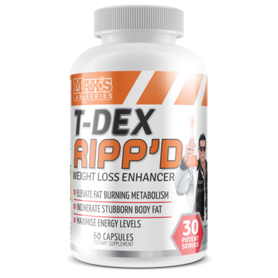 Max's T-Dex Ripp'd Thermogenic