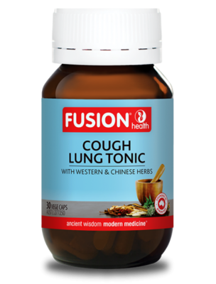 Fusion Health Cough Lung Tonic Capsules