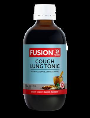 Fusion Health Cough Lung Tonic Liquid