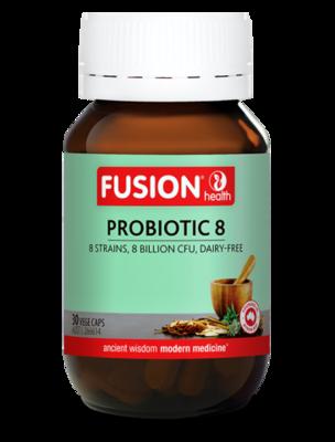 Fusion Health Probiotic 8 Vege Capsules