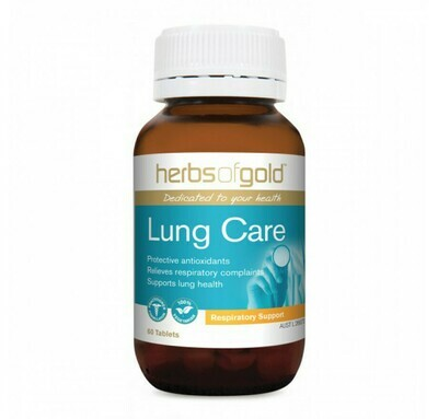 Herbs of Gold Lung Care Tablets