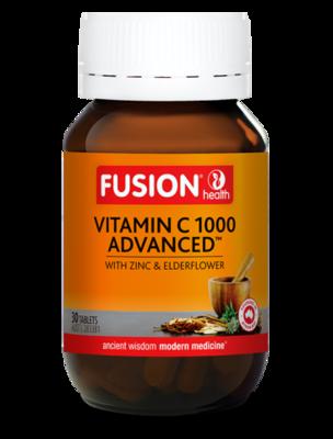 Fusion Health Vitamin C Advanced Chewable Tablets