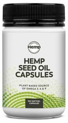 Essential Hemp Hemp Seed Oil Capsules