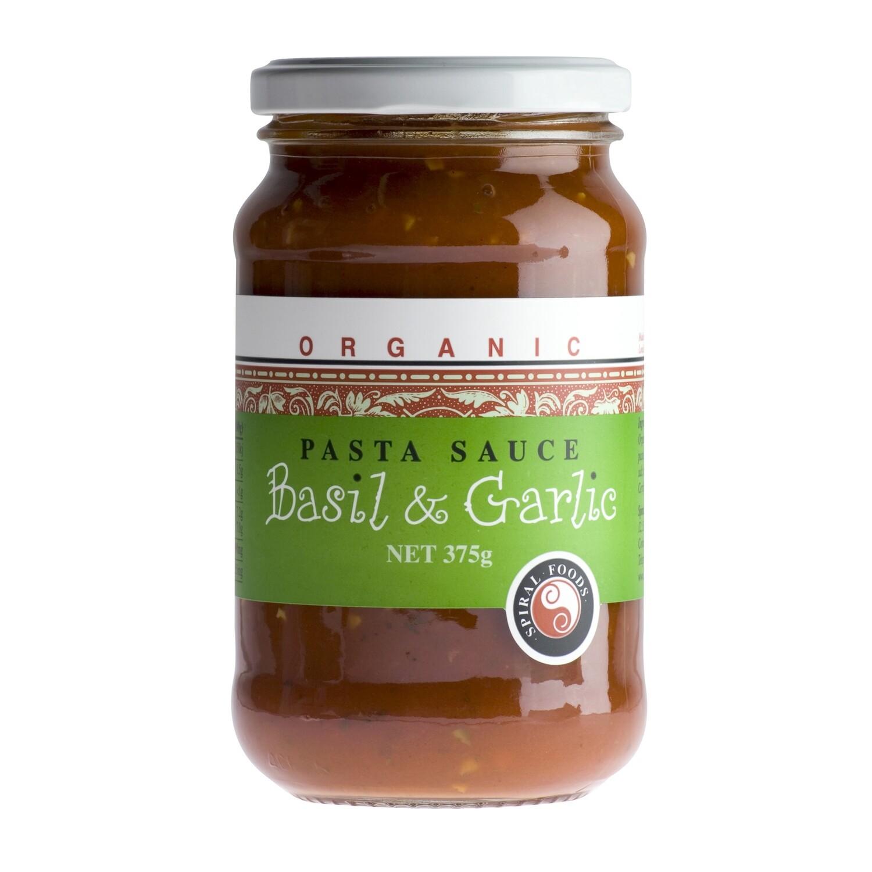 Spiral Foods Tomato, Basil & Garlic Pasta Sauce