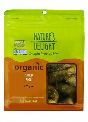 Nature's Delight Organic Dried Figs