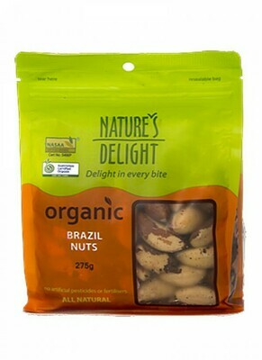 Nature's Delight Organic Brazil Nuts
