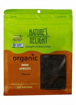 Nature's Delight Organic Dried Apricots