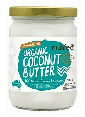 Niulife 100% Pure Creamed Coconut Butter