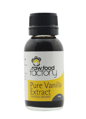 Raw Food Factory Pure Vanilla Organic Extract
