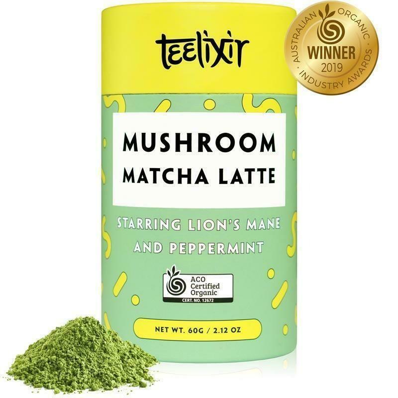 Teelixir Mushroom Matcha Latte