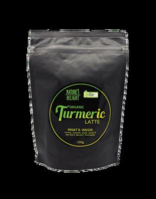 Nature's Delight Organic Turmeric Latte