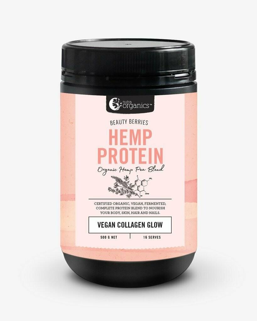 Nutra Organics Beauty Berries Hemp Protein
