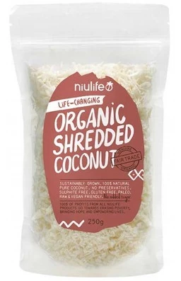 Niulife Organic Coconut Shredded