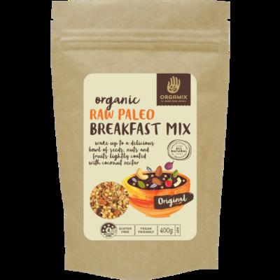 Orgamix Organic Raw Paleo Gluten Free Breakfast Mix