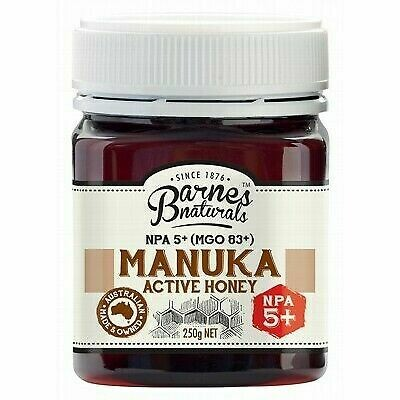 Barnes Naturals Manuka Active Honey