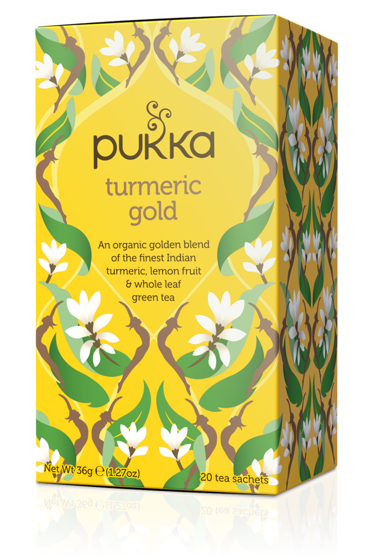 Pukka Tea Turmeric Range
