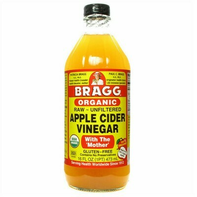 Bragg Organic Apple Cider Vinegar (with the Mother)