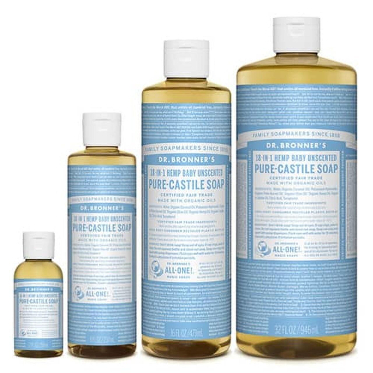 Dr Bronner's Pure Castile Liquid Soap