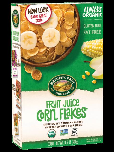 Nature's Path Organic Fruit Juice Corn Flakes