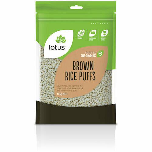 Lotus Organic Brown Rice Puffs