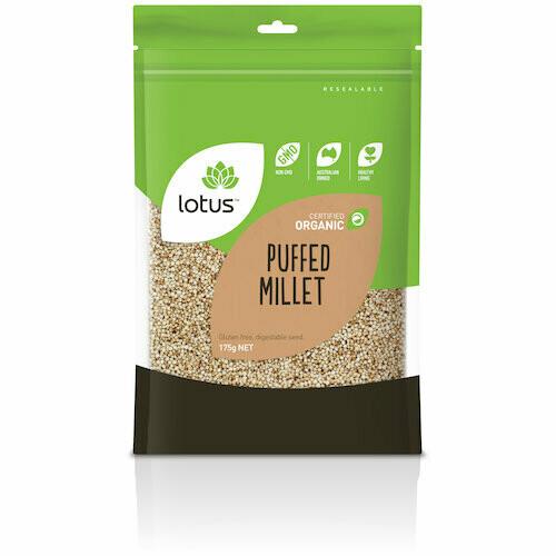 Lotus Organic Puffed Millet