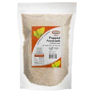 Pure Food Essentials Organic Popped Amaranth