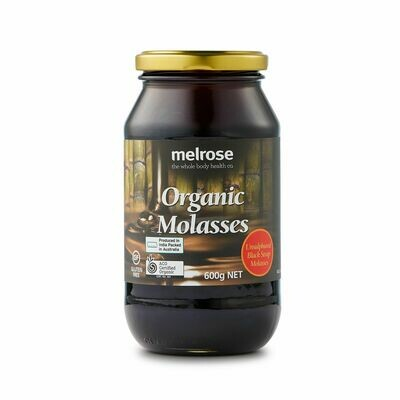 Melrose Organic Unsulphured Black Strap Molasses