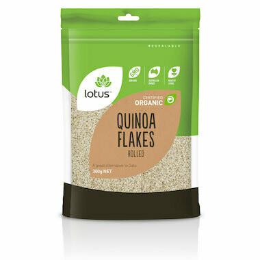 Lotus Organic Quinoa Flakes
