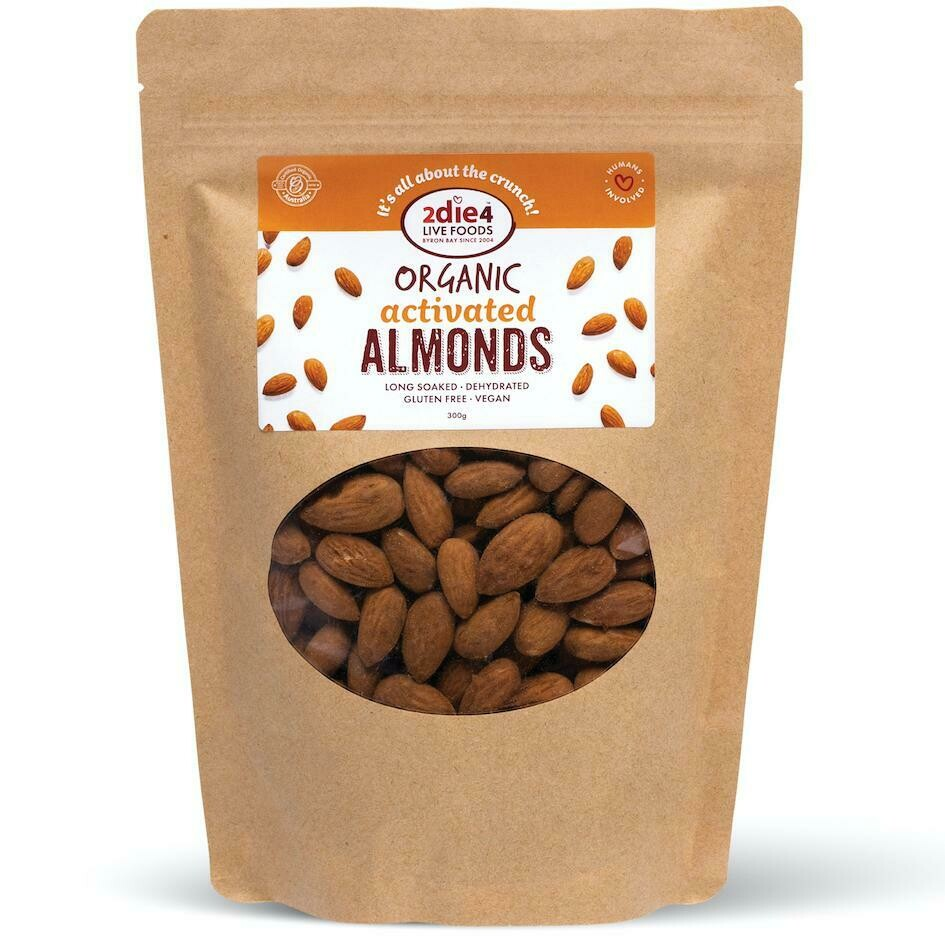 2Die4 Organic Activated Almonds
