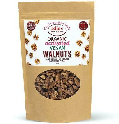 2Die4 Organic Activated Vegan Walnuts