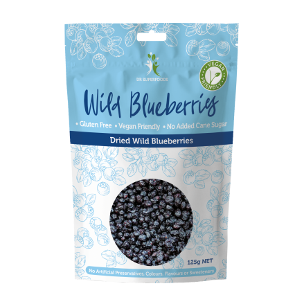 Dr Superfoods Dried Wild Blueberries