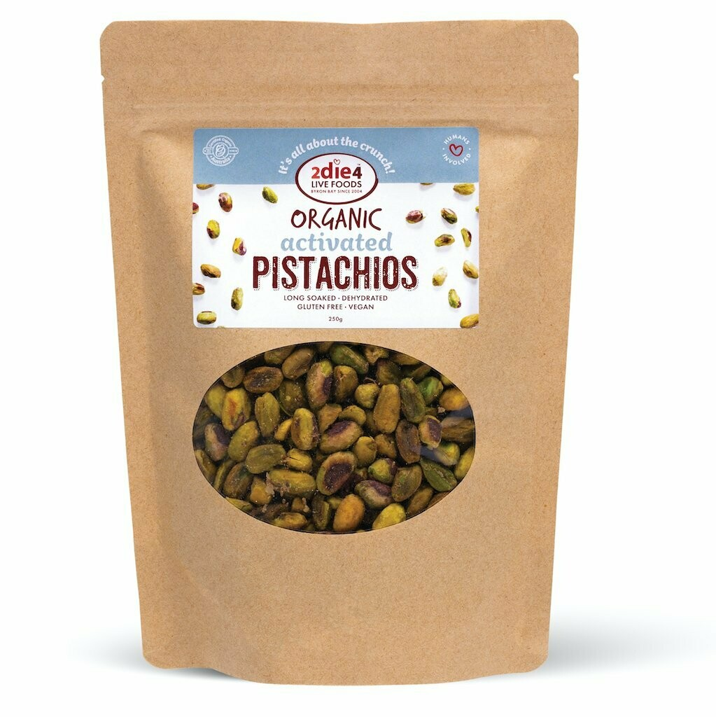 2Die4 Organic Activated Pistachio