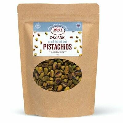 2Die4 Organic Activated Pistachio
