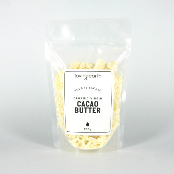 Loving Earth Virgin Cacao Butter