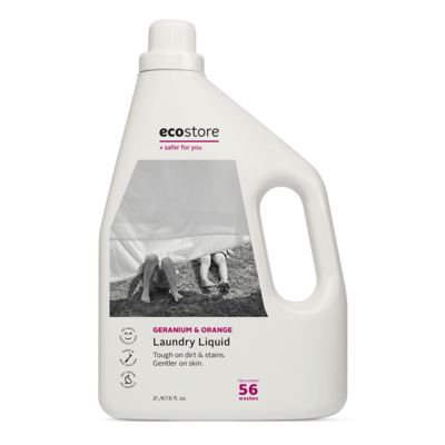 Eco Store Geranium & Orange Laundry Liquid