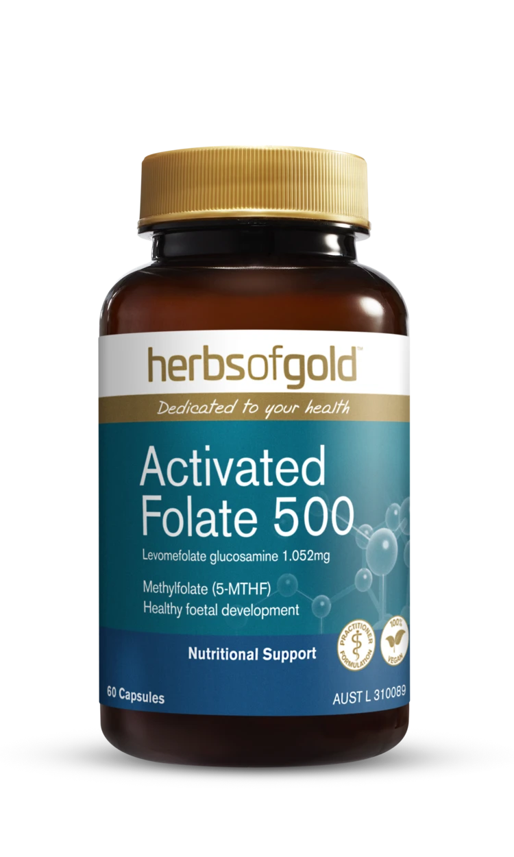 Herbs of Gold Activated Folate 500