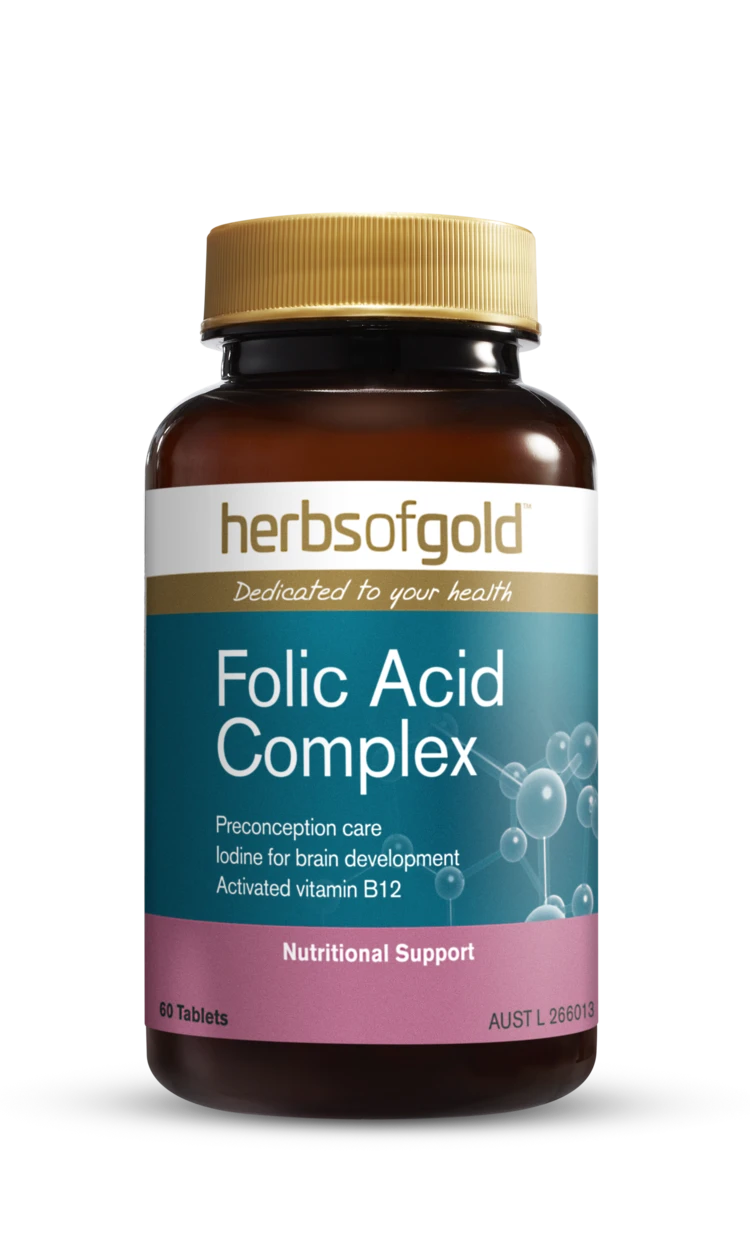 Herbs of Gold Folic Acid Complex