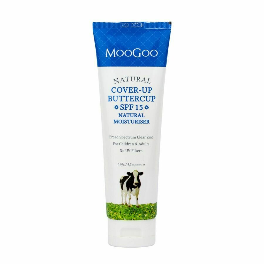 MooGoo Cover Up Buttercup SPF 15 Natural Moisturiser
