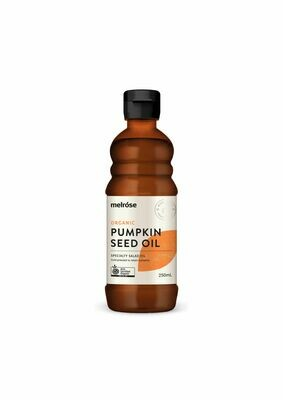 Melrose Organic Pumpkin Seed Oil