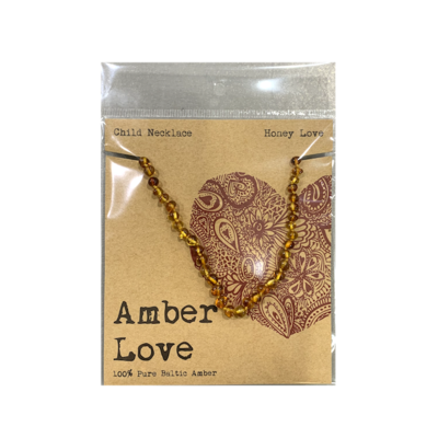 Amber Love 100% Pure Baltic Amber Child Necklace