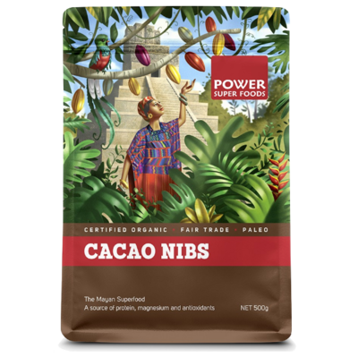 Power Super Foods Organic Cacao Nibs